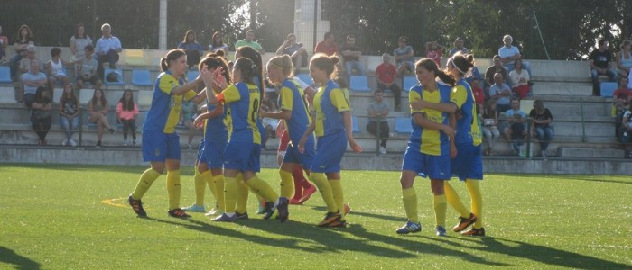 Valadares Gaia FC bateu o Cesarense por 6-0 em jogo antecipado da 5ª jornada do Campeonato Nacional da 1ª Divisão. Os golos foram marcados por Edite Fernandes (2), Dani Veloso (2), Guita e Sara Granja