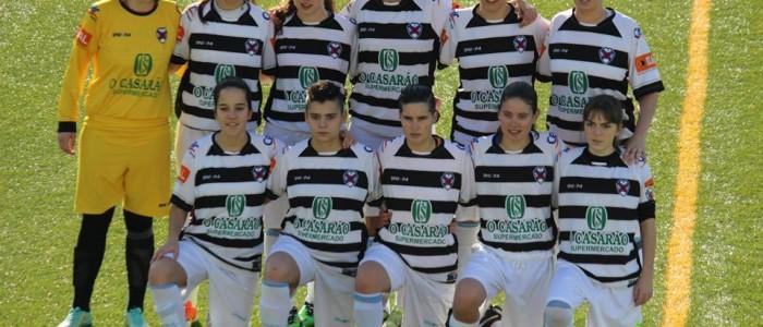 Cesarense e Leixões empataram 1-1 com os golos a serem marcados por Catarina Silva para a equipa de Cesar e Mafalda para as leixonenses