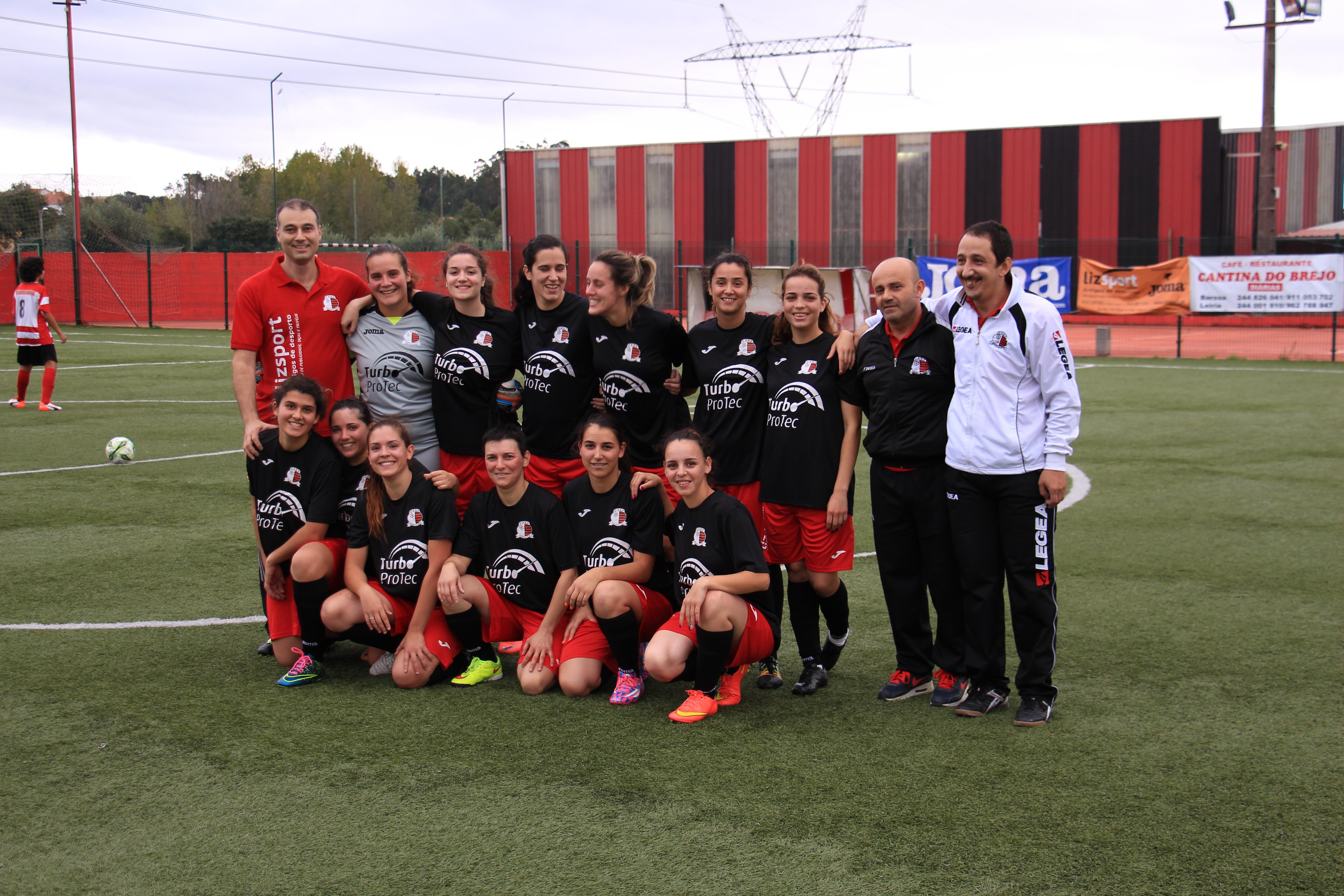 Foto: Blog do CARP Futebol de 7 Feminino (De referir que estão em falta nesta foto 4 jogadoras)