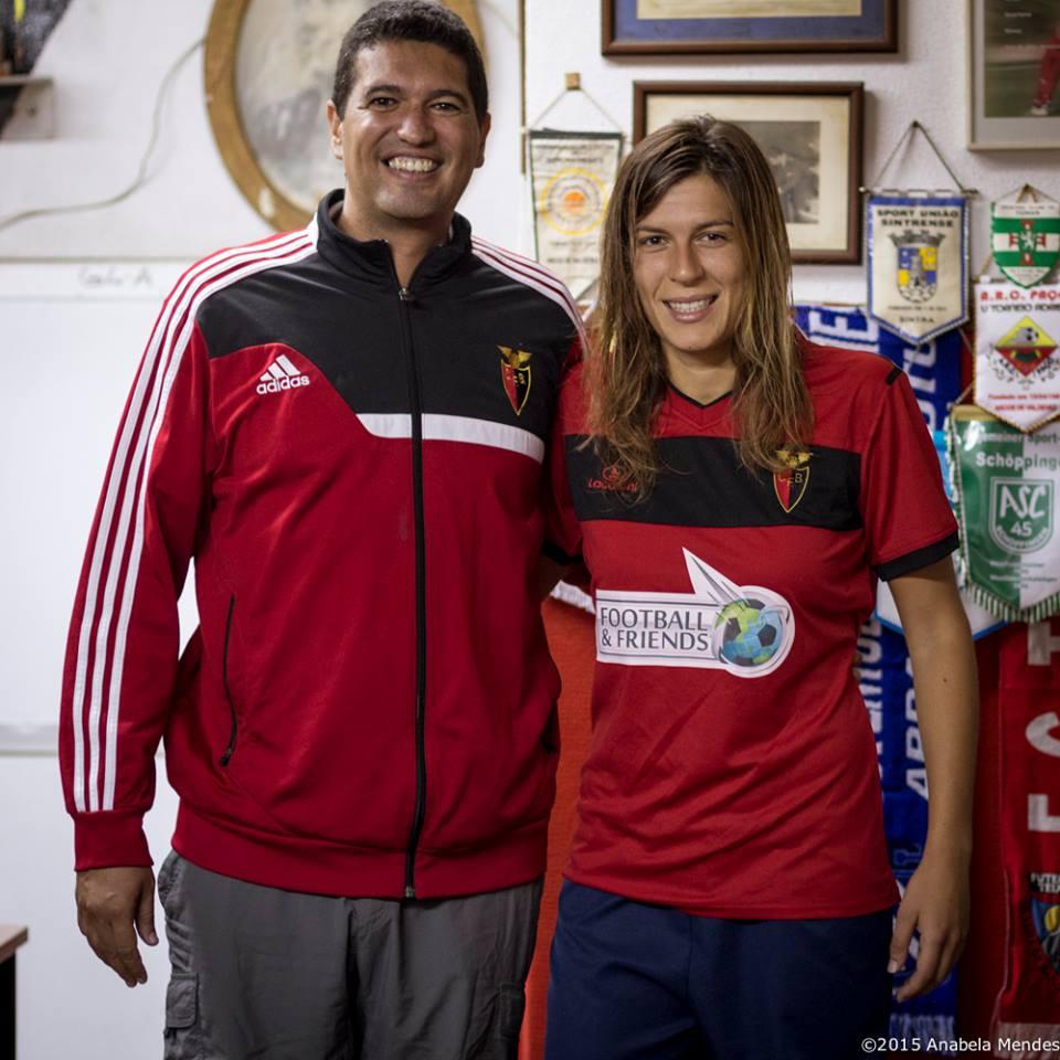 Pedro Bouças e Raquel Infante