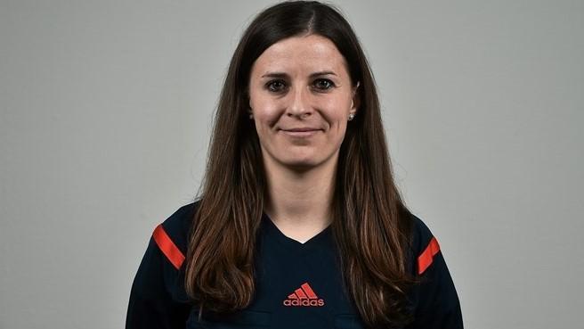 Katalin Kulcsár vai apitar a final de 2016   ©Sportsfile