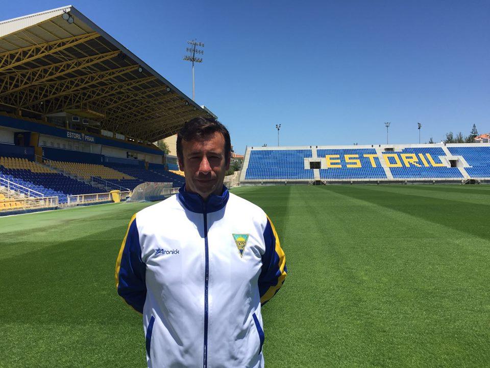 Pedro Sampaio - novo treinador da equipa sénior Estoril Praia Feminino
