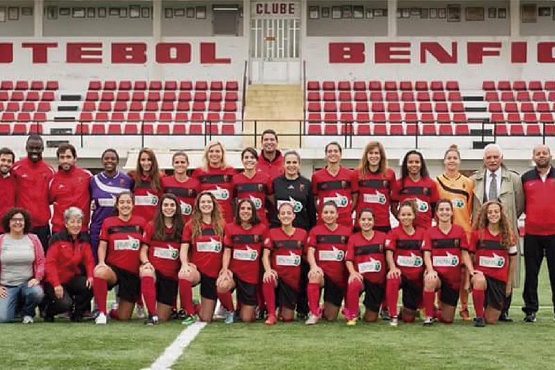As bicampeãs nacionais marcam presença pela segunda vez na fase de grupos da Liga dos Campeões. Foto: DR