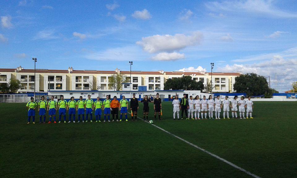 O  jogo entre o Quintajense FC e a CP Martim foi decidido por pontapés da marca de grande penalidade após empate 2-2