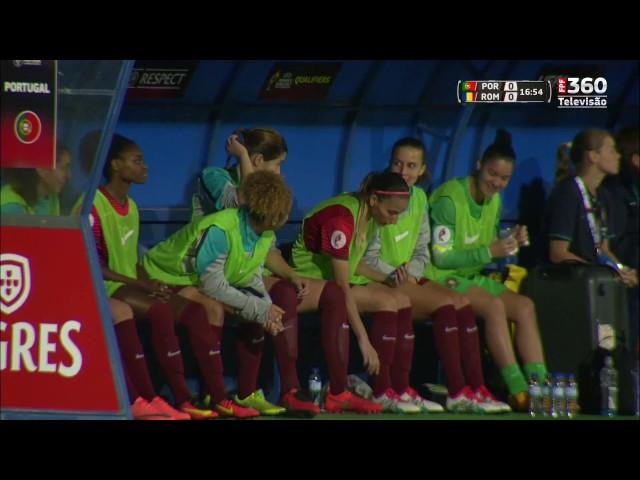 O futebol no feminino só teve lugar durante algumas transmissões da selecção, e durante o jogo SB Braga - Sporting CP.
