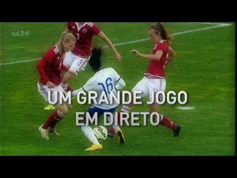 A TVI 24 anunciou a semana toda que o jogo da selecção portuguesa contra o Canadá, para a Algarve Cup iria ter transmissão televisiva. No dia e hora desse jogo, transmitem notícias...