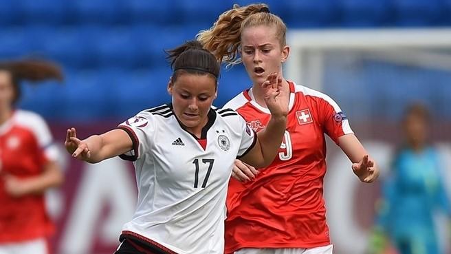 Será que a Alemanha consegue a desforra da Suíça? ©Sportsfile
