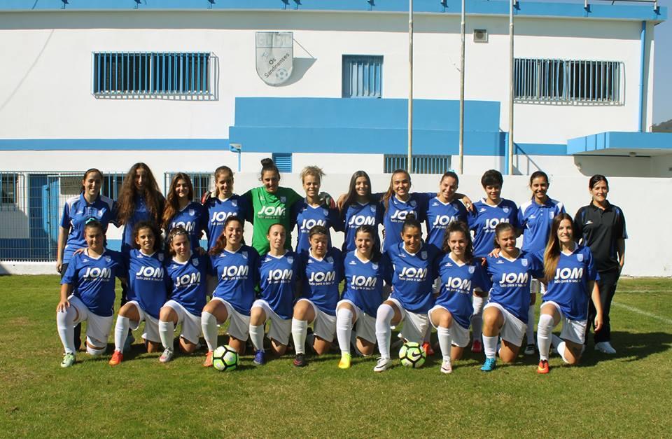 Os Sandinenses venceram 7-0 no campo do Bonitos Amorim