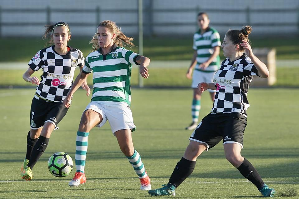 """Boavista e Sporting num jogo que em caso de vitória das """"leoas"""", deixa decidida a questão do título"""
