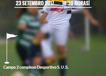 Sintrense joga amanhã amigável frente ao Sporting em sub-17