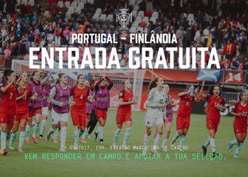Portugal joga no Estádio Marcolino de Castro contra a Finlândia