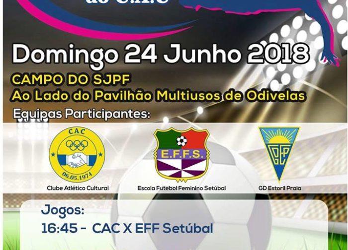 1º Torneio de Futebol Feminino do CAC Pontinha