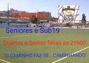 UD Ponte Frielas faz captações para as suas equipas femininas de Seniores e Sub-19 todas as 4.ª e 6ª feiras