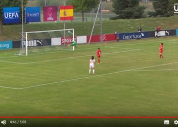 Golo da época UEFA 2017/2018: Três golos no feminino entre 11
