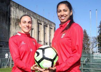 Jana e Ágata Pimenta em antevisão ao duelo contra o Sporting