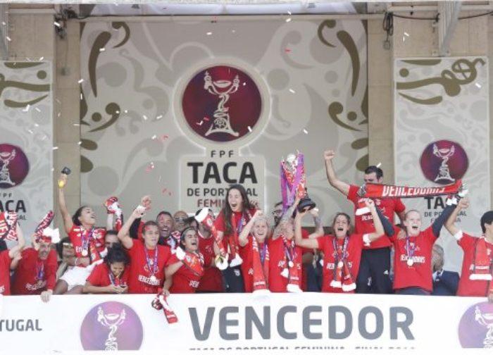 SL Benfica vence a Taça de Portugal