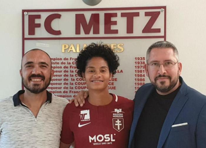 Jassie Vasconcelos troca Benfica pelo Metz
