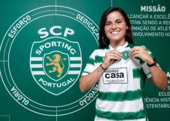 Mónica Mendes é reforço do Sporting