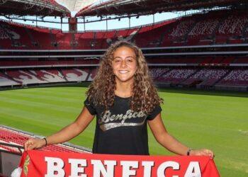 Matilde Fidalgo é do Benfica