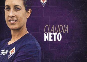 Cláudia Neto é reforço da Fiorentina